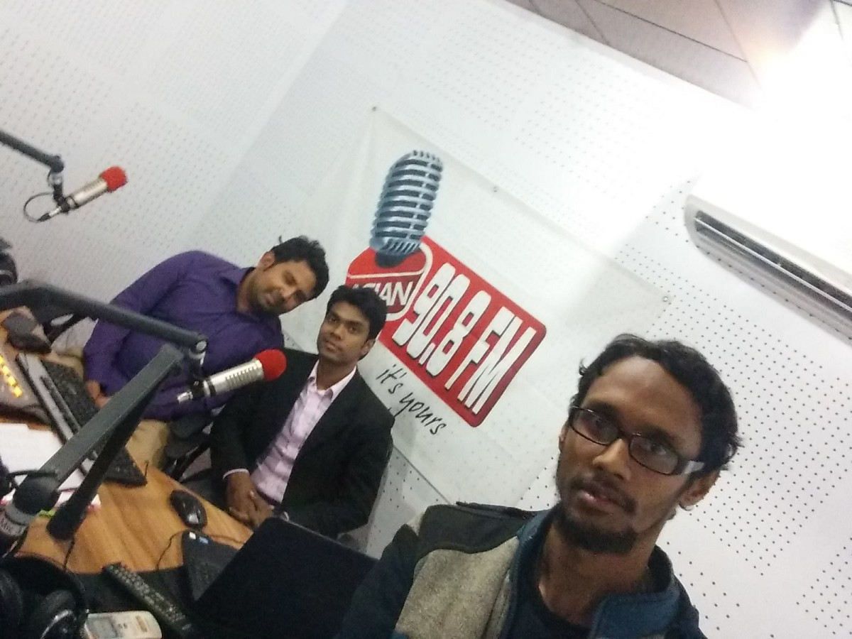 Lets Learn Coding @ Tech Life Asian Radio FM 90.8